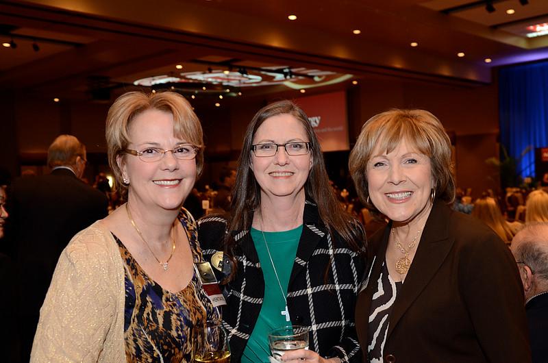 Debbie Bethancourt '76, Kathy McCoy '80, Jo Ann Davis