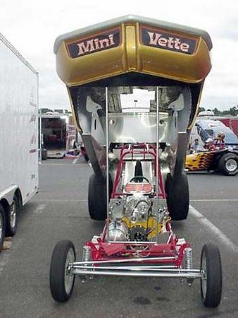 Bill & Jason Pratt: 2004 Funny Car Reunion