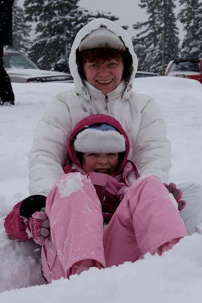 Family - Winter trip to Kachess lake, WA, January 2009