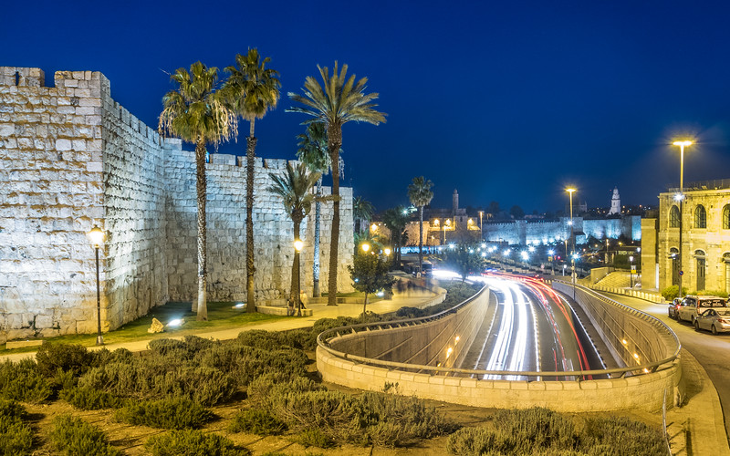 Tunnel outside the City Wall, Jerusalem