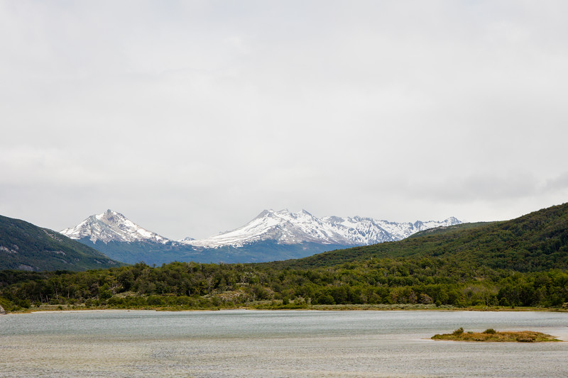 A view from the visitor center - Tierra del Fuego NP, Argentina