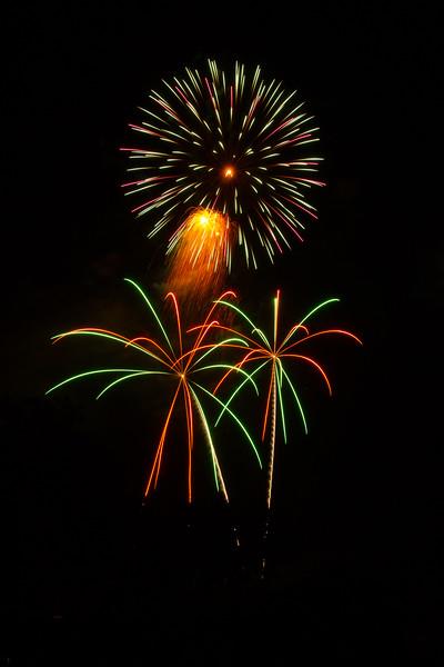 Calistoga Fireworks 2017