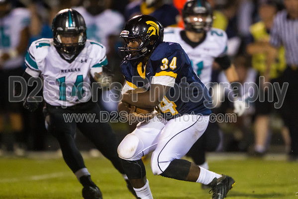 Mt Tabor Spartans vs Reagan Raiders Varsity Football 10/11/2013