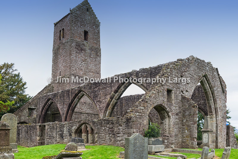 Muthill Old Church & Tower Scotland.
