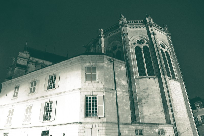 Early morning in Angers