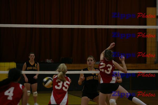 Walnut @ A-C 10-6-09 volleyball