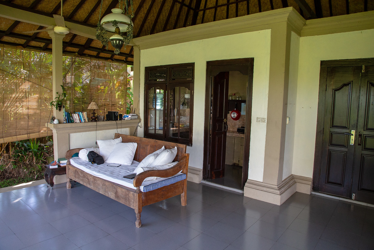 View of the Day-Room of Ubud Bali Villa Rental