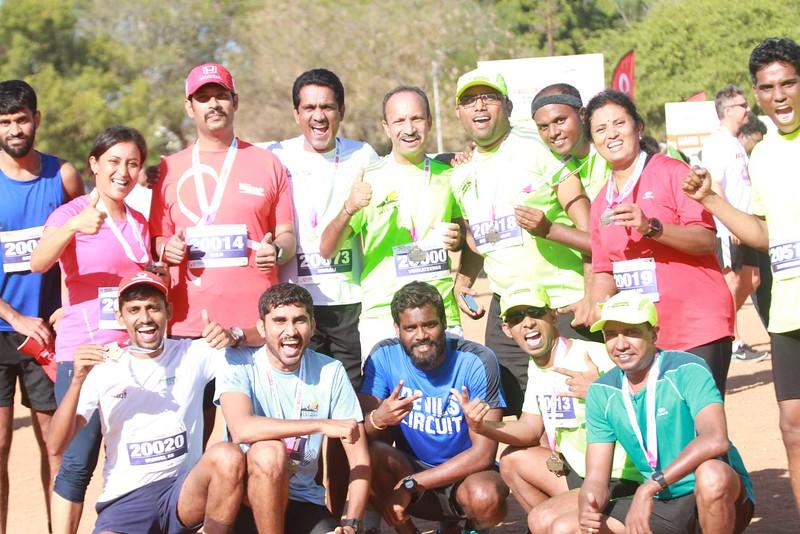 Coimbatore Marathon 2016 - 21K