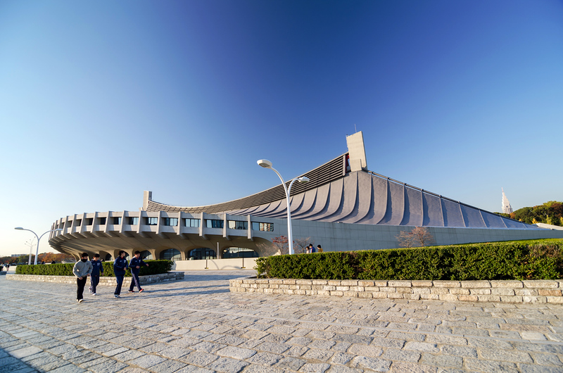 Yoyogi National Gymnasium. Editorial credit: Sira Anamwong / Shutterstock.com