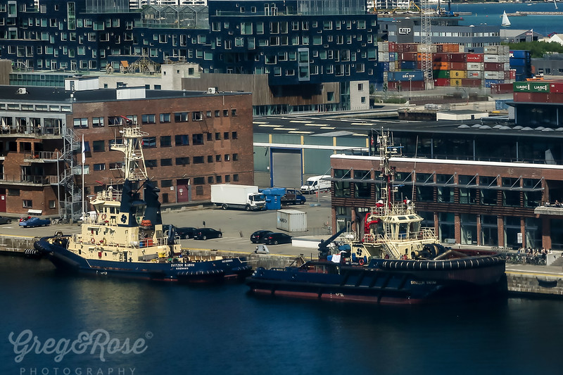 All Muscle these working tug boats