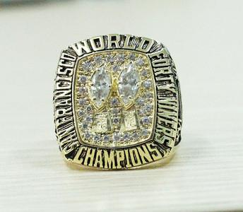 1984 San Francisco 49ers NFL super bowl XIX championship rings