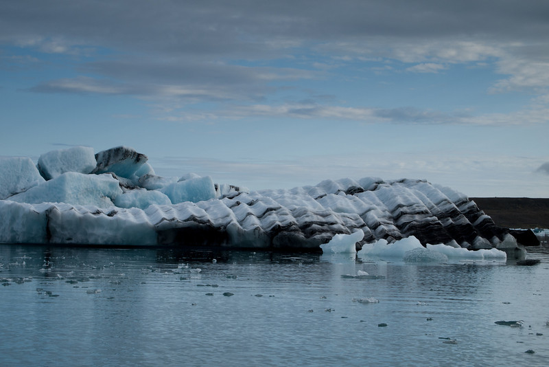 Another iceburg.  This one looks like a seashell
