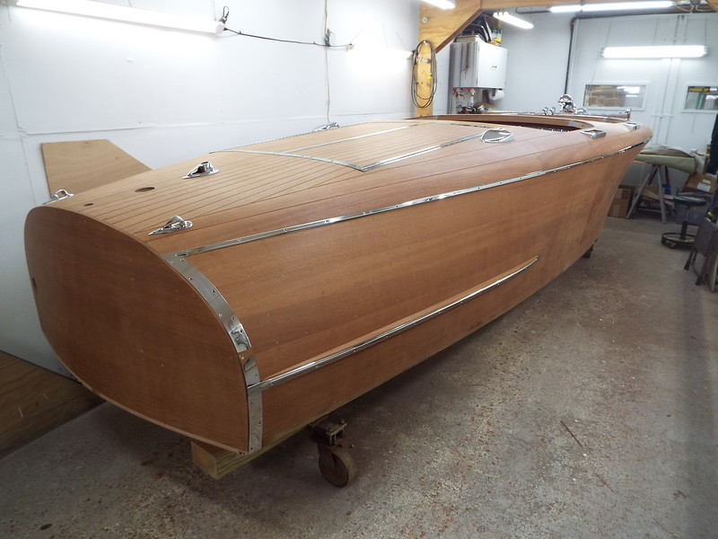 Another rear starboard side view.