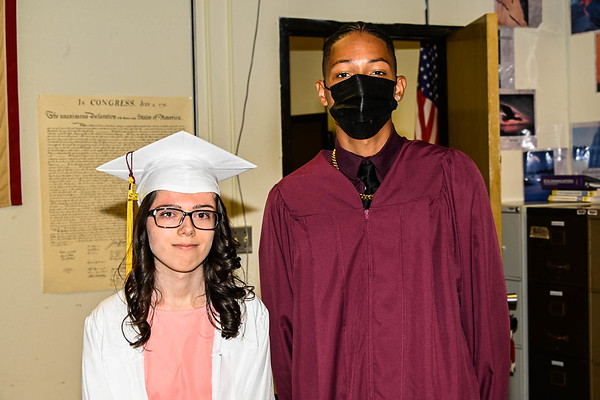 Sheehan High School 2021 Gradation - Spotted