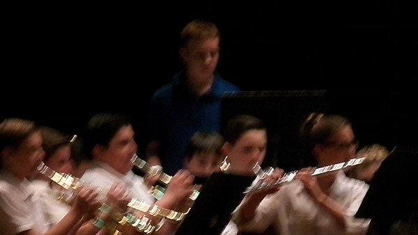 Jacob's 8th Grade Winter Band Concert
