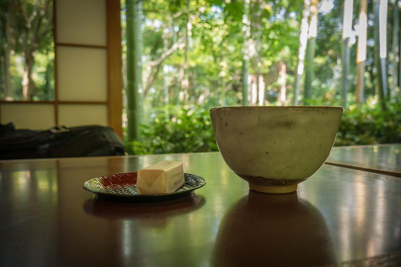 Tea at the Okochi-Sanso Villa