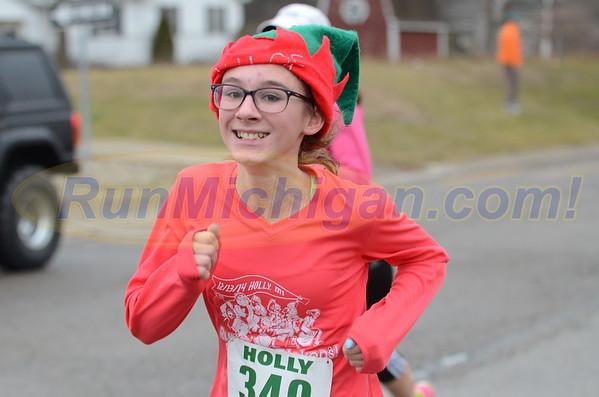 5K Finish - 2015 Run Like the Dickens