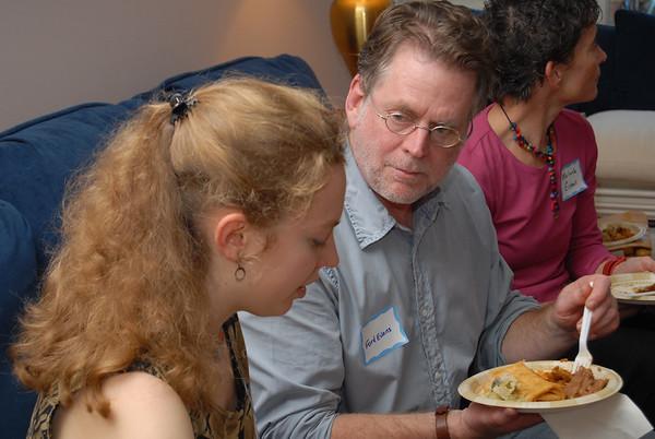 13EW Event:  Merce Cunningham Dinner (10/3/07)