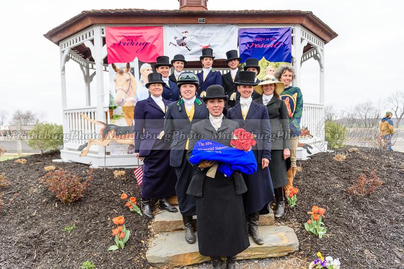 Mrs. E. Miles Valentine  Side Saddle Awards 2016