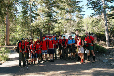 7/31/2004 - Shake down training hike @ San Gorgonio