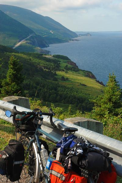 Bike on the Cabot Trail - Cape Breton Highlands National park