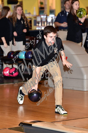 Wyomissing vs Berks Catholic High School Bowling 2014 - 2015