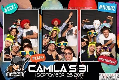 Camila's 31st