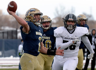 Photos: Frederick Loses to Pueblo South in 3A Football Semifinal
