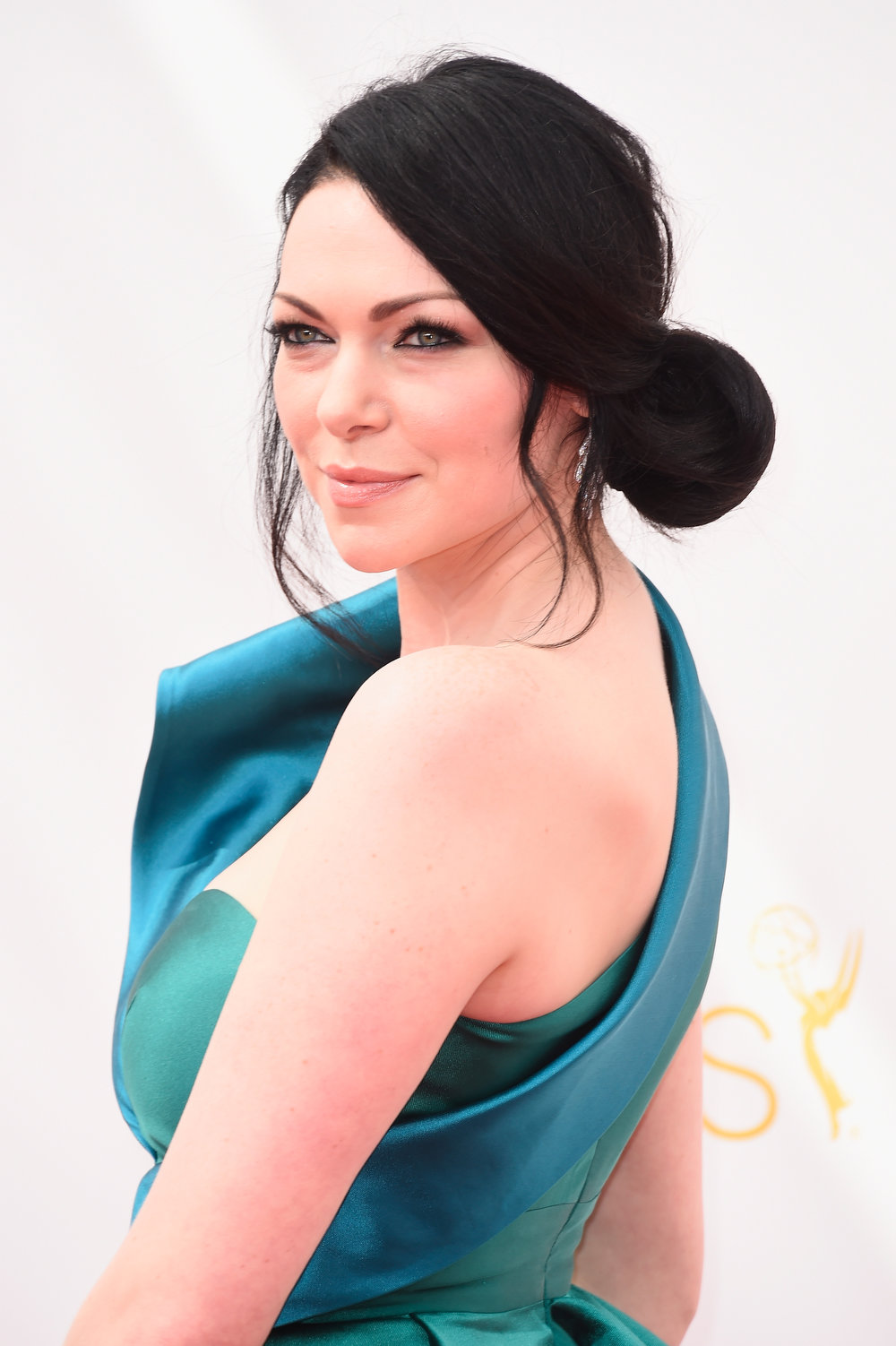 . Actress Laura Prepon attends the 66th Annual Primetime Emmy Awards held at Nokia Theatre L.A. Live on August 25, 2014 in Los Angeles, California.  (Photo by Frazer Harrison/Getty Images)