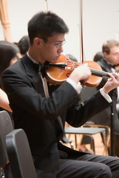 Albert Liu, violin -- Hopkins Symphony Orchestra, March 2008