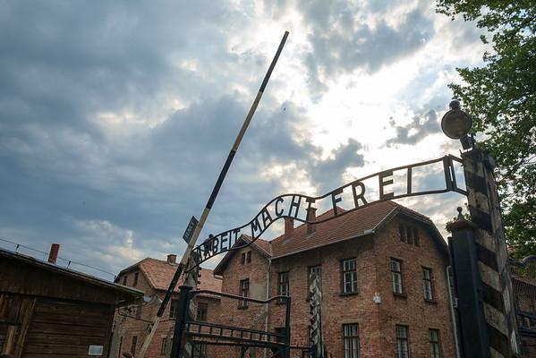 Krakow - 18 July 2015 - Auschwitz