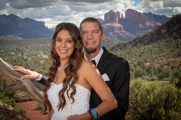 Vanessa & Edward's Sedona Wedding