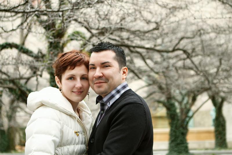 Alyeska Kochanek & Richard Martinez Engagement Session Art Institute - Chicago, Illinois