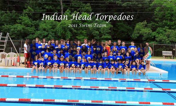 Indian Head Torpedoes Swim Team 2011