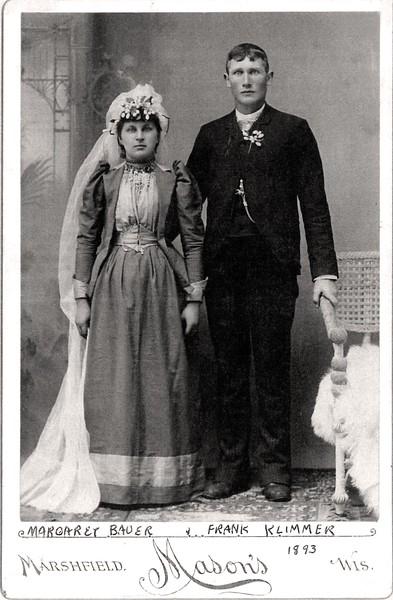 Margaret (Bauer) and Frank Klimmer