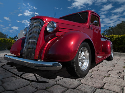 1937 Chevy Pickup Truck Bob Chambers