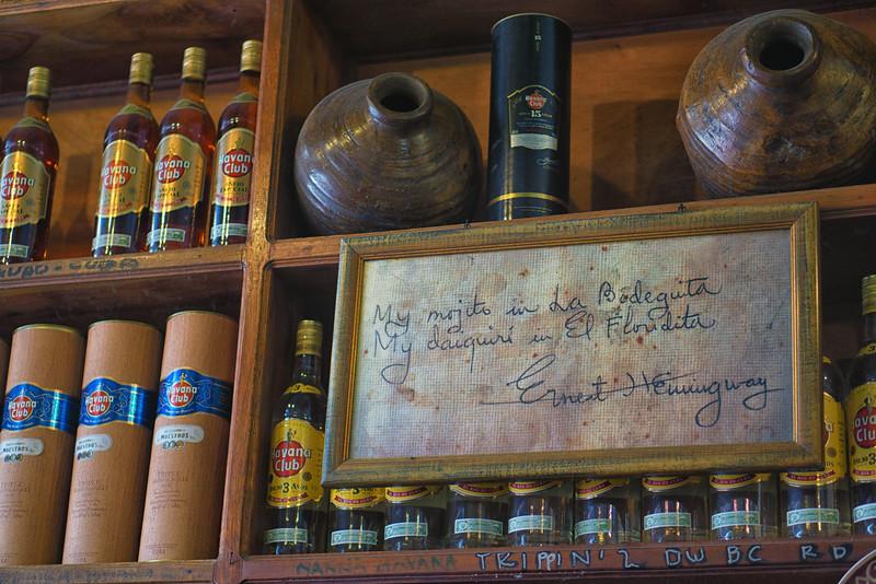 La Bodeguita del Medio, Hemingway's favorite spot for a mojito