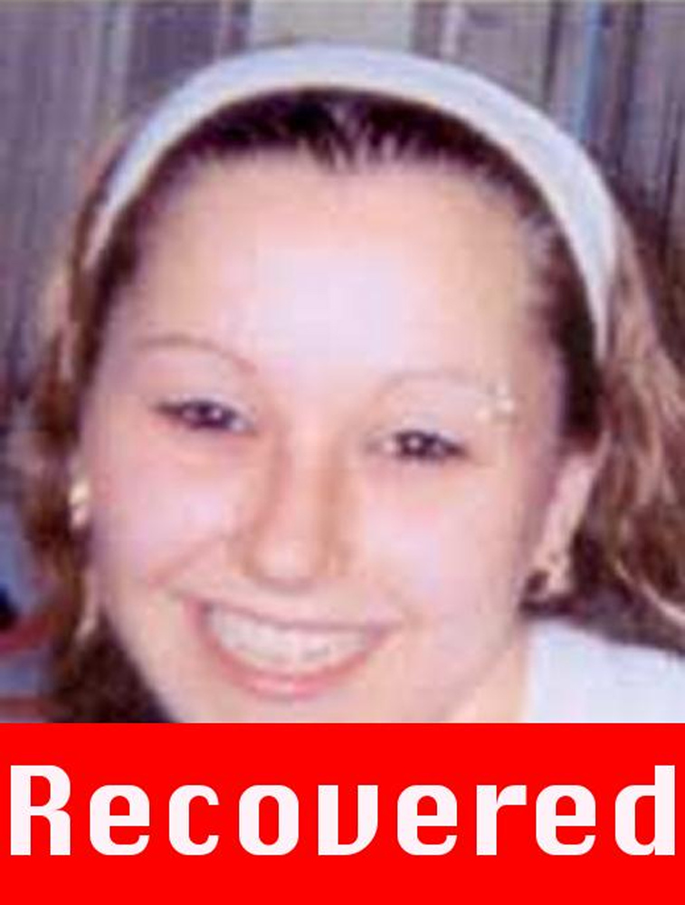 ". This photograph obtained on May 6, 2013 courtesy of the FBI shows Amanda Berry, who went missing on April 21, 2003, after leaving the fast food restaurant at which she was employed a decade ago, and was found alive May 6, 2013 in a residential area of Cleveland, Ohio. Three women who had been missing for years -- two of whom disappeared as teenagers -- were found alive in a house in Cleveland, police in the US state of Ohio said Monday. ""All three women, Amanda Berry, Gina DeJesus and Michele Knight, seem to be in good health,\"" Cleveland police said in a statement. (Picture are right is a \""photograph progressed to 17 years) \""AFP PHOTO /  FBI\"""