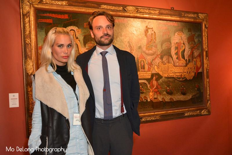 Adriana Ontiveros and Sebastian Mannell
