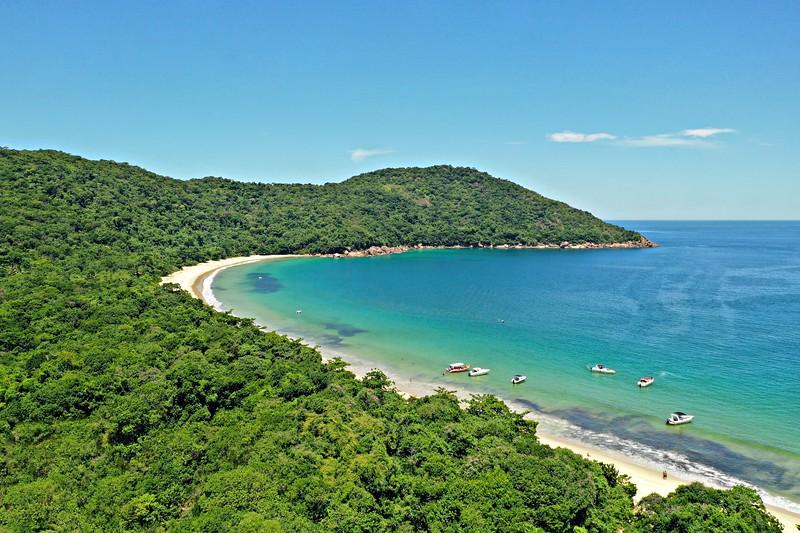 Lopes Mendes Beach on Ilha Grande