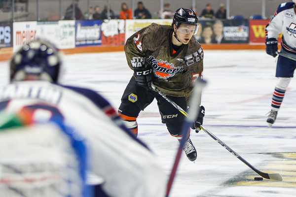 12/9/16 Komets vs. Kalamazoo Star Wars Night