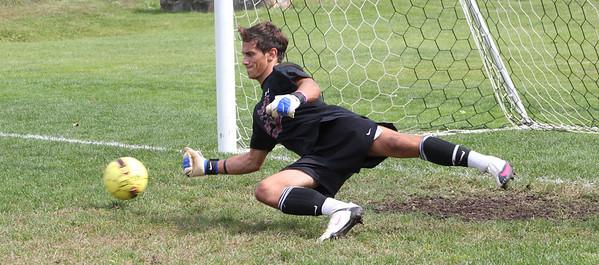 Varsity Boys Soccer vs Weston - 09/22/2012