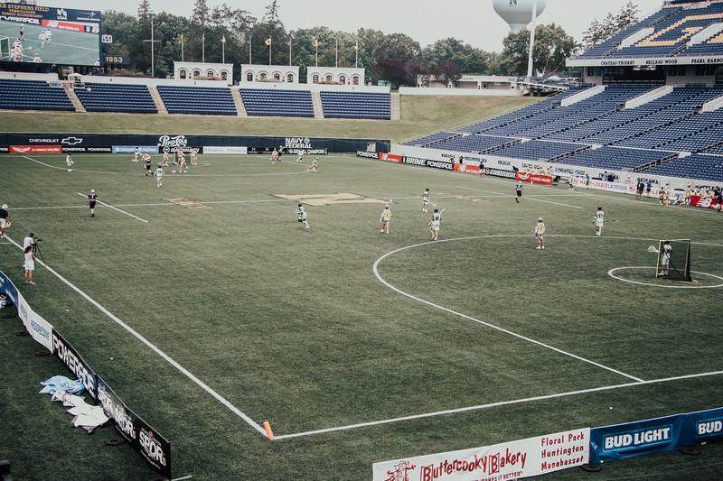 7/22/2020; Annapolis, MD, USA; Lizards vs Hammerheads  - at Navy Marine Corps Memorial Stadium. Mandatory Photography Credit: Jamal Cooley