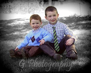 Nicholas and Zachary