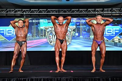 Men's Bodybuilding Masters 60+ MW