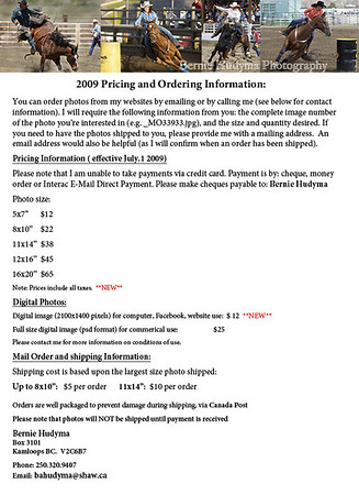 Pricing and Order Information