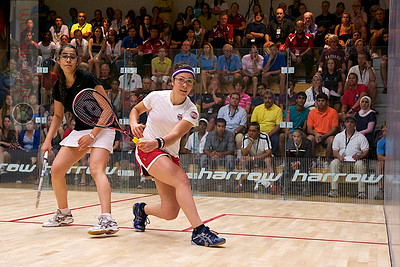 2011-07-23 Quarterfinals: Amanda Sobhy (USA) and Mariam Metwally (Egypt)