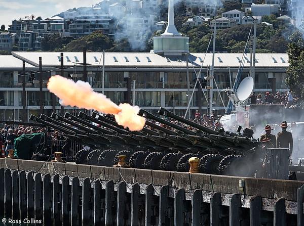 Armistice Day 100 Gun Salute 2018