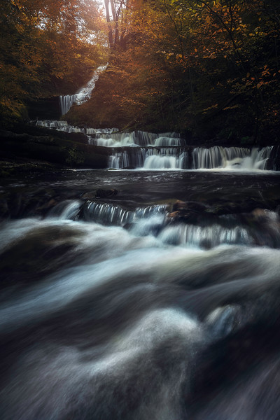 Scaleber Force 3 Waterfall Yorkshie Dales fine art england.jpg