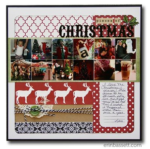 Scrapbook Page Idea's Christmas